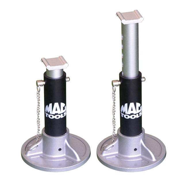 MAC TOOLS(マックツールズ) :2.7t アルミ製ジャッキスタンドのご紹介