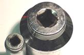 製品保証対象外のソケット破損1